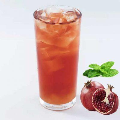 Pomegranate Swiss Peppermint Green